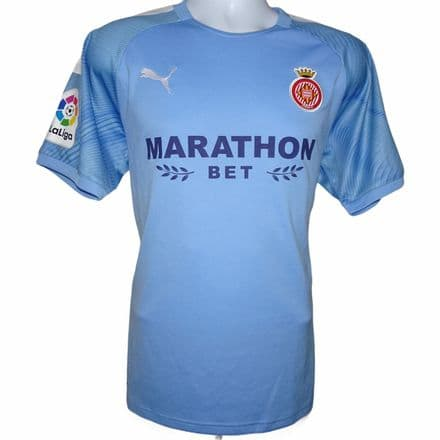 2019-2020 Girona Away Football Shirt Puma Large (Excellent Condition)